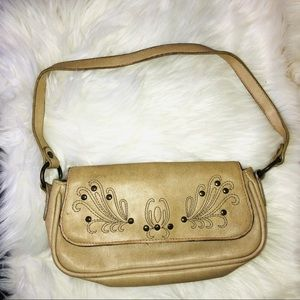 Steve madden embroidered started purse small